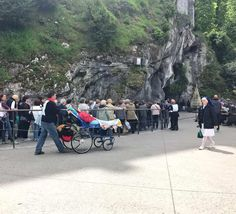 A Lourdes Pilgrimage For the Occasionally Devout Day Tripper Lourdes France, France Travel, Pilgrimage, Baby Strollers, Things To Do, Vacation, Bucket, Home, Tourism