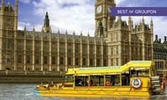 Groupon - London Sightseeing Tour by River and Land with London Duck Tours (23% Off) in London Duck Tours Bus Stop. Groupon deal price: £18.50