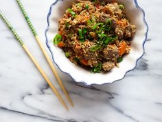 Cauliflower Fried Rice - The Toasted Pine Nut