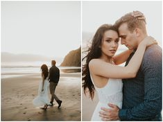 Ruby Beach engagement by Sarah Anne Photography Beach Engagement Photos, Engagement Shoots, Emily Austin, Beach Sessions, Before Sunset, Engagement Inspiration, Getting Engaged, Home And Away, Wedding Season