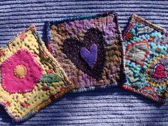 Art Spirit: Mini Art Quilt squares