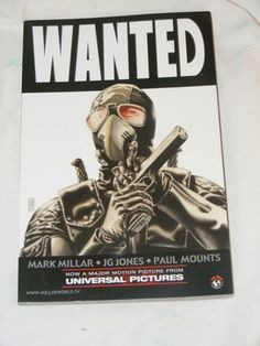 Wanted // Mark Millar and JG Jones // Top Cow // Image Comics