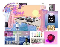 """""""Miami rick and morty"""" by psymon ❤ liked on Polyvore featuring art"""