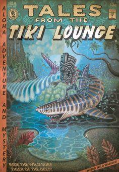 ...from Brad (Tiki Shark) Parker #tiki #hawaii #comics