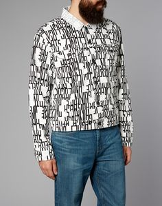 Levi's Line 8 Trucker Jacket with Graphic Print