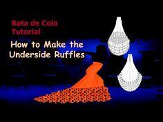 Bata de Cola Video Tutorial: How to Make the Ruffles - Flamenco Dressmaking