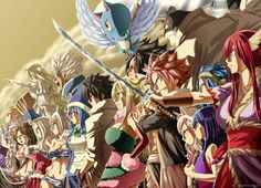 this is so awesome, fairy tail make an amazing team!