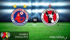 Veracruz vs Tijuana, Fecha 4 del Clausura 2016 ¡En vivo por internet! - https://webadictos.com/2016/01/29/veracruz-vs-tijuana-clausura-2016/?utm_source=PN&utm_medium=Pinterest&utm_campaign=PN%2Bposts