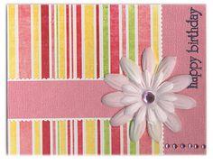 Happy Birthday June - Moonstone - Scrapbook.com - #scrapbooking #cardmaking #birthday