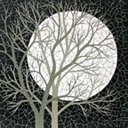 White Moon mosaic by Robert Field