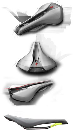 Sketches we like / Digital Sketch / at Specialized Power Saddle on Behance