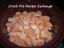 Crock Pot Sweet Potatot Casserole.... so easy, will never make it in the oven again!