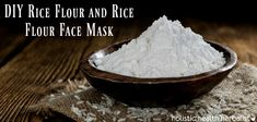 Women around the globe have used rice flour for thousands of years. In Feudal Japan, a rice flour face mask was used for smooth, bright, beautiful skin. Nowadays, rice flour is used to reduce inflammation and irritation while also lightening hyperpigmentation caused by acne breakouts. It also controls oil!
