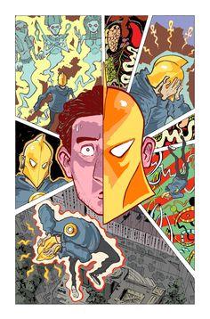 Doctor Fate Dc Comics Art, Marvel Dc Comics, Comic Books Art, Comic Art, Book Art, Silver Banshee, Dr Fate, Cute Couple Cartoon, Justice League Dark