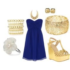 look at this outfit- im totally sold!  its almost like our colors are king blue and gold...