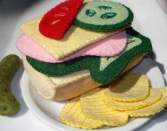 Sandwich by Woolly Wonka, via Flickr