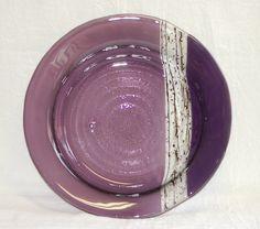 Fused Glass Round Bistro Bowl  223 by MAIStuffStudio on Etsy, $60.00