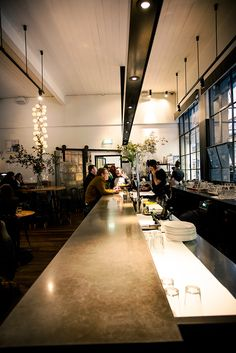 Cumulus Inc. Eating House and Bar, Flinders Lane, Melbourne - My favourite Melbourne restaurant, if going as a couple best to sit at the bar and watch the food being prepared.
