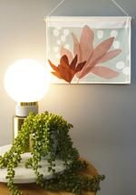 Our mini wall hangings feature original botanical designs printed on thick, quality canvas fabric and suspended from natural Tasmanian oak with cotton twine - ready to be hung as a perfect addition to your home or office space. Affordable Art, Wall Hangings, Twine, Magnolia, Canvas Fabric, Wall Art, Space, Printed, Natural