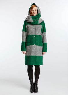 marimekko / Huppelus -I want this coat so bad! Finnish Design at its finest. Pretty Outfits, Beautiful Outfits, Cool Outfits, Fashion Outfits, Womens Fashion, Marimekko Dress, Retro Dress, Urban Fashion, Passion For Fashion