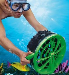 Cool-inventions-and-gadgets: Underwater Motor Geek Gadgets, Gadgets And Gizmos, Electronics Gadgets, Cheap Gadgets, Office Gadgets, Cool Technology, Technology Gadgets, Futuristic Technology, Futuristic City