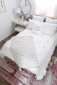 Bedroom Makeover Reveal - Money Can Buy Lipstick - Bedroom Makeover . - Bedroom Makeover Reveal – Money Can Buy Lipstick – Bedroom Makeover Reveal – Money Can Buy Li - Simple Bedroom Decor, Cozy Bedroom, Bedroom Apartment, Home Decor Bedroom, Girls Bedroom, Bedroom Furniture, Modern Bedroom, Guest Bedrooms, Bedroom Decor For Small Rooms
