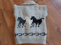 Ravelry: Wild Horses Vest pattern by Susan Springett