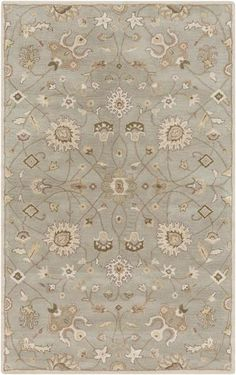 Elegance, sophistication, and grace are just a few words that define the radiant rugs found within the flawless Caesar collection by Surya. Hand Tufted in 100%