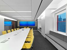 LinkedIn de M Moser Associates Corporate Office Design, Workplace Design, Office Furniture, Furniture Design, Conference Room Design, Innovative Office, Villa Design, Room Interior Design, Room Lights