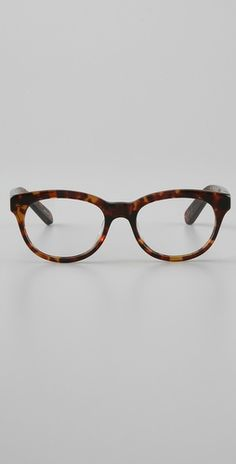Glasses.  I like tortoiseshell and had a pair like this around 1990.  Hope these come back in style.