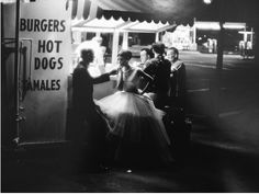 """William Claxton  """"Audreys"""" Hot dog stand, Los Angeles, 1961"""