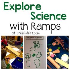 Exploring Science in Pre-K with Ramps from PreKinders