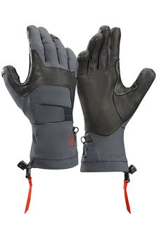 Arc'teryx Alpha FL Insulated Gloves Graphite/Cardinal S Mens Gloves, Leather Gloves, Leather Men, Outdoor Outfit, Outdoor Gear, Climbing Gloves, Trekking Outfit, Insulated Gloves, Tactical Clothing