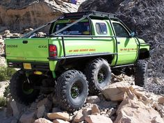 Dodge Ram 6x6 - I gotta get me one of these!