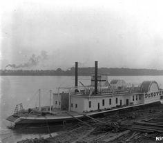DeKOVEN, 1894. :: Howard Steamboat Museum Collection