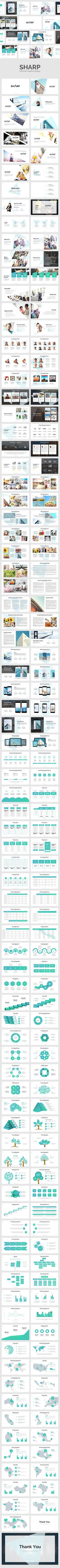 SHARP - Creative Design (PowerPoint Templates) More