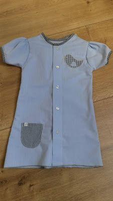 Ideenkaemmerchen's Welt: Ein neues Kleid aus altem Hemd  nähen - Upcycling