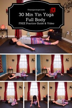 FREE 30 Min Full Body Balancing Yin Yoga Practice - Full Practice Guide & Video