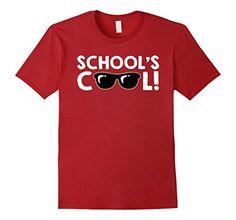 School's cool glasses Funny Kids T-shirt