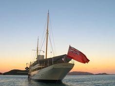 Steam Yacht Nahlin