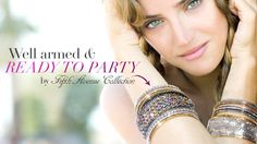 Ready to Party? off all jewellery in July! Fifth Avenue Collection, Pop Up, Jewelery, Glamour, Elegant, Casual, Shopping, Beautiful, Bracelets