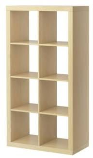 IKEA - KALLAX, Shelf unit, high gloss white, , Choose whether you want to place it vertically or horizontally to use it as a shelf or sideboard. Ikea Expedit Bookcase, Kallax Shelving Unit, Diy Kitchen Storage, Cube Storage, Playroom Storage, Dvd Storage, Storage Shelving, Record Storage, Ikea Storage