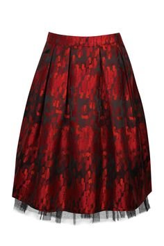 so pretty for the holidays Brocade Skirt