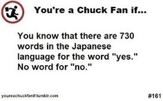 Chuck vs The Three Words