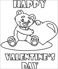 funschool valentines day printable valentines day coloring pages for kids