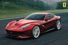 Ferrari - F12 Berinetta - Official Poster. Official Merchandise. Size: 61cm x 91.5cm. FREE SHIPPING                                                                                                                                                                                 More