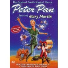 Peter Pan. This is the first movie I have memory of watching. Mary Martin forever will be the BEST Peter Pan ever!