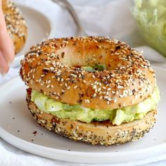 The Best Avocado Egg Salad - Pinch of Yum Avocado Egg Salad - no mayo here! just avocados, eggs, herbs, lemon juice, and salt. especially good on an everything bagel. Healthy Egg Salad, Easy Egg Salad, Healthy Juice Recipes, Healthy Juices, Easy Recipes, Healthy Snacks, Avocado Dessert, Avocado Egg Salad, Avocado Salat
