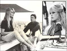 13 ejemplos muestran que los lunares hacen increíble cualquier prenda - Brigitte Bardot (1960s)