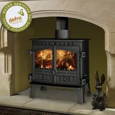 Hunter Herald 8 Slimline Multifuel / Woodburning Stove